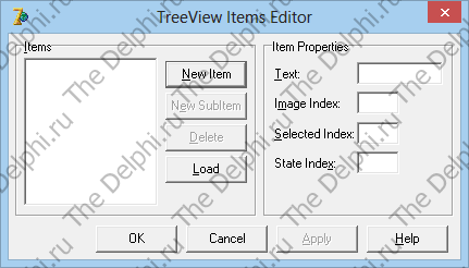 TreeView Items Editor